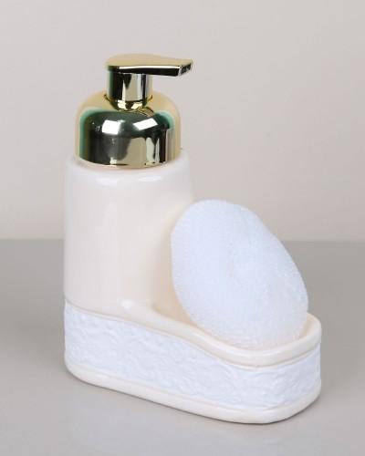 Seramik Köpüklü Sıvı Sabunluk