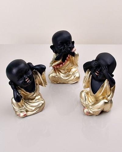 Polyester 3 lü Buda